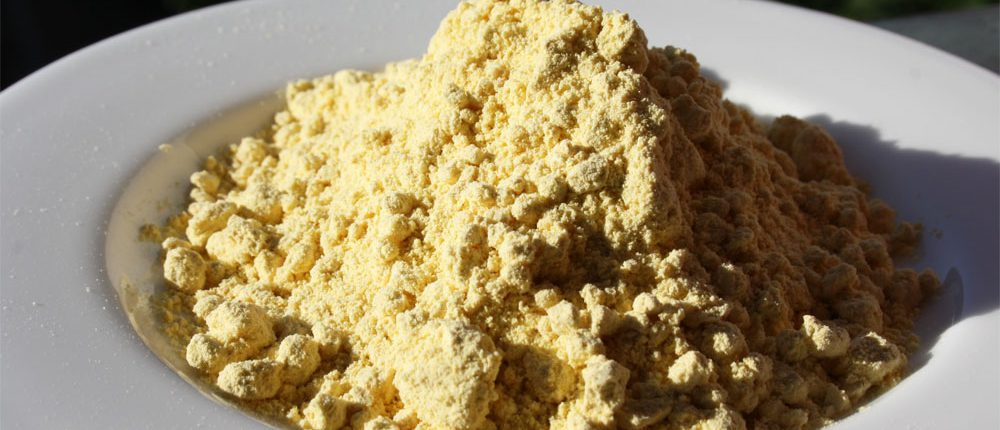 Mehl aus der Lupine