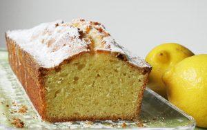 Rührkuchen mit Zitronen