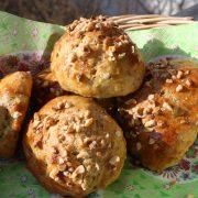 lowcarb: Mandelbrötchen mit Quark und Dinkelmehl