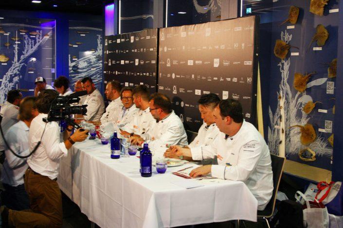 Die Jury Koch des Jahres bei der Bewertung