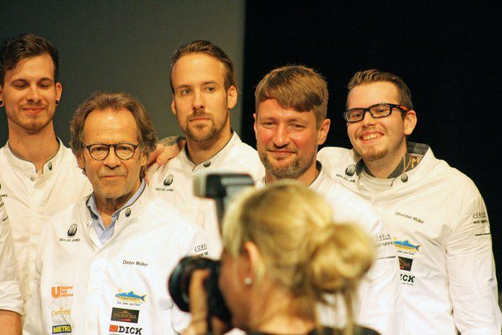 Jury-Mitglieder Dieter Müller, Sebastian Frank