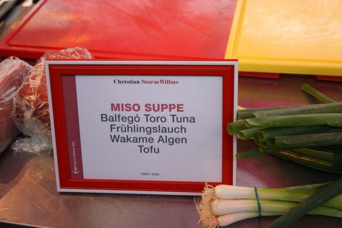 Mein Favorit: Miso-Suppe von Christian Sturm-Willms