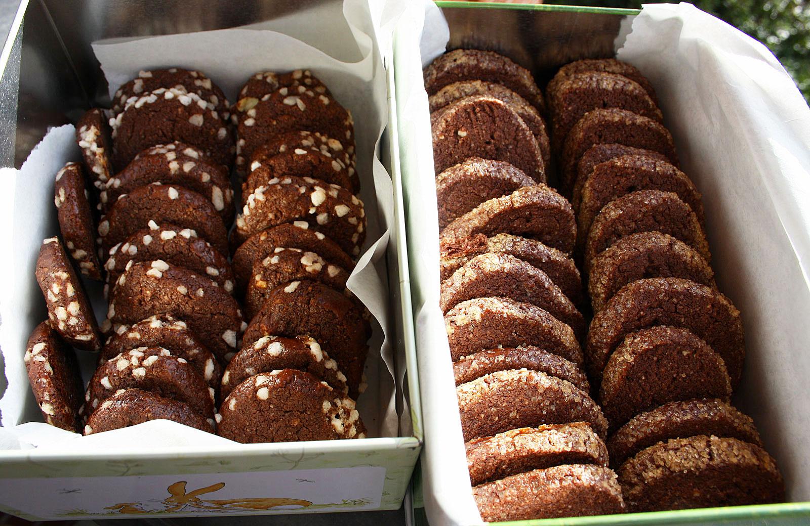 Backrezept Fur Schokoladige Kekse Teig Geht Wunderbar Zum Einfrieren