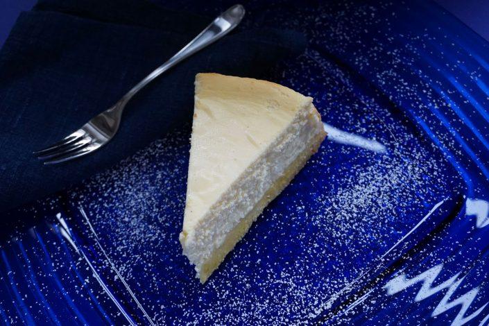 Rezept nach Volker Fuhrwerk im Gut Panker Ole Liese, Käsekuchen mit Quark und Butter