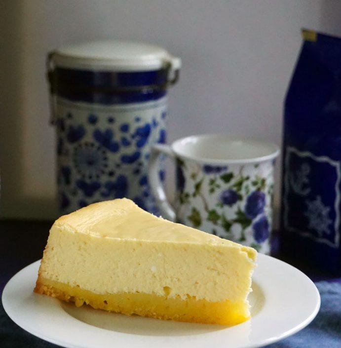 Cheesecake, gebacken nach einem Rezept von Volker Fuhrberg aus Schleswig-Holstein, abgewandelt vom Schokopuck