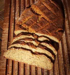 Backrezept für Kastanienbrot mit Lupinenmehl