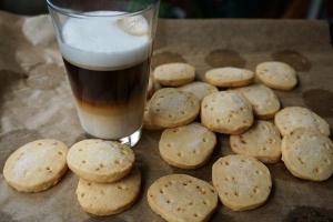 frisch aus dem Ofen zum Latte Macchiato: Ginger Shortbreads