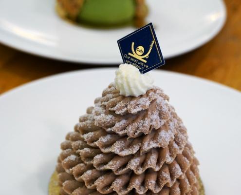 Maronen Torte Montblanc