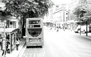 kleiner Prinz Kurzgeschichte mit Foto, Bus aus London